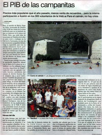 Diario Córdoba (07/09/09, página 12)