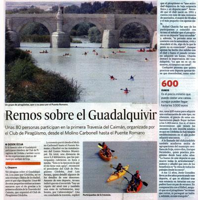 El Día de Córdoba (07/09/09, página 19)