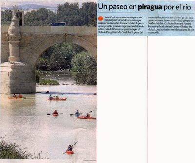 El Día de Córdoba (07/09/09, contraportada)
