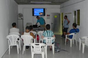 Escuela de kayak del Club de Piragüismo Córdoba (Centro Náutico Municipal)